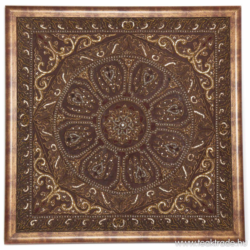 mandala textilkép