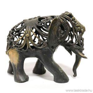 Bronz elefánt szobor