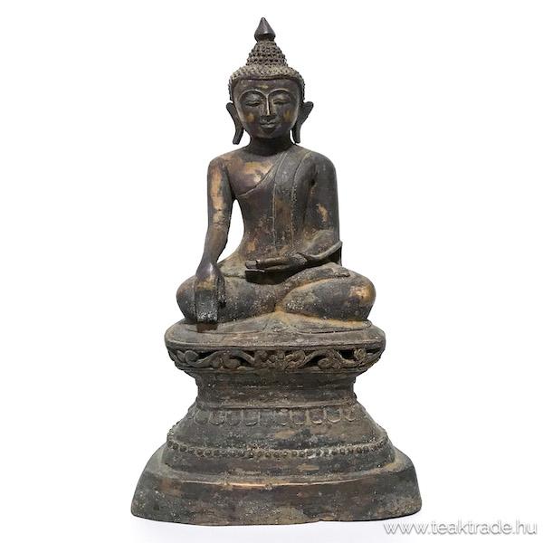 Bronz Buddha szobor